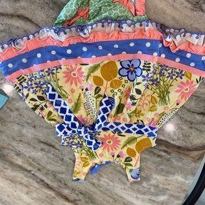 Matilda Jane Eclectic Print Jersey Dress & Bloomer